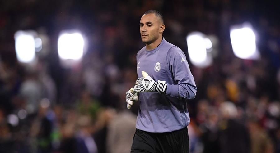 Keylor Navas, portero del Real Madrid, indicó que no jugará la Copa porque necesita descanso. (Foto Redes).