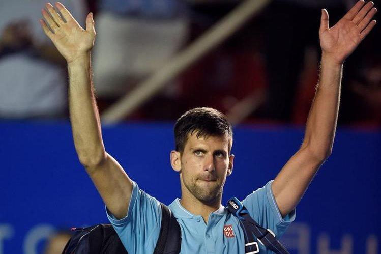 Djokovic dejará a muchos aficionados con las ganas de verlo en acción. (Foto Prensa Libre: AFP)