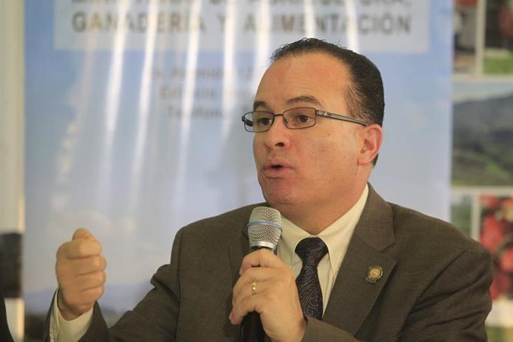 El ministro de Agricultura Mario Méndez Cóbar propone discutir más la iniciativa de ley de desarrollo rural. (Foto Prensa Libre: Hemeroteca PL)