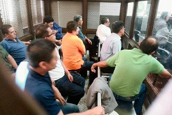 Los señalados por el caso La Línea seguirán en prisión. (Foto Prensa Libre: Erick Ávila)