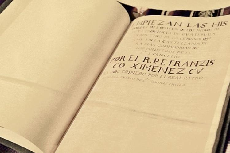 Este año, el Día del Libro en Guatemala recordará las historias mesoamericanas contenidas en el libro sagrado de los mayas, el Popol Vuh.