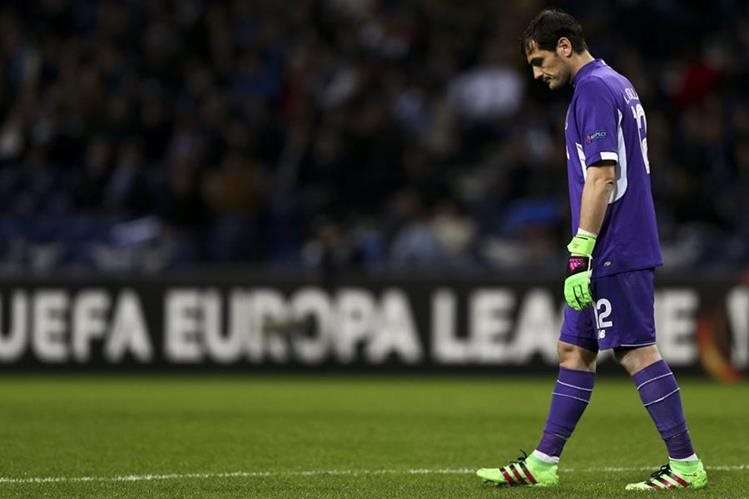 Íker Casillas habló acerca de la derrota del Oporto contra el Borussia. (Foto Prensa Libre: AP)