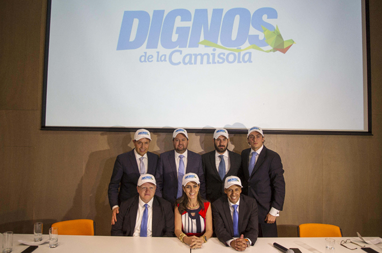 El equipo de Albizuris está integrado por  José Carlos Sarmiento, Sara Alzugaray, Andrés Rivera, Eduardo Palomo, Gustavo Noyola y Gustavo Ortiz. (Foto Prensa Libre: Norvin Mendoza)