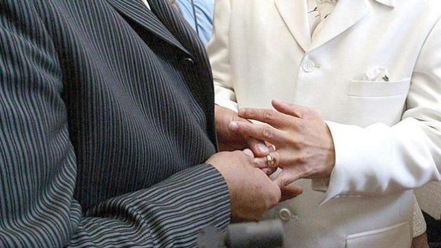 Se realiza primera boda homosexual en México. (Foto Prensa Libre: EFE)