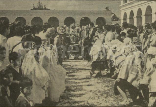 La Virgen de Montserrat fue nombrada patrona del pueblo. (Foto: Hemeroteca PL)