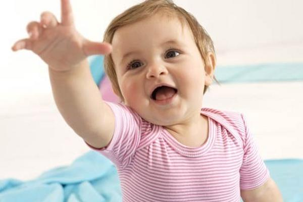 <p>Los balbuceos del bebé</p>