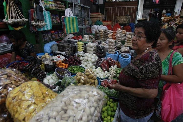 La inflación afecta los guatemaltecos en general. (Foto Prensa Libre: Estuardo Paredes/Hemeroteca)