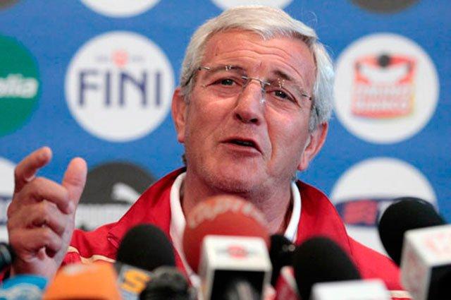 El estratega italianio Marcello Lippi podría tomar las riendas de la selección china. (Foto Prensa Libre: AP).