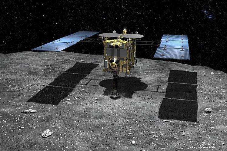 La sonda japonesa Hayabusa-2 logró situarse en su órbita de destino. (Foto: danielmarin.naukas.com).