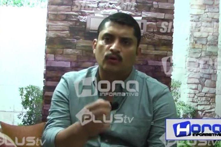 El alcalde de Patulul Édgar José García Monroy se defiende de los señalamientos sobre el video que fue publicado en redes sociales. (Foto tomada de Hora Informativa)