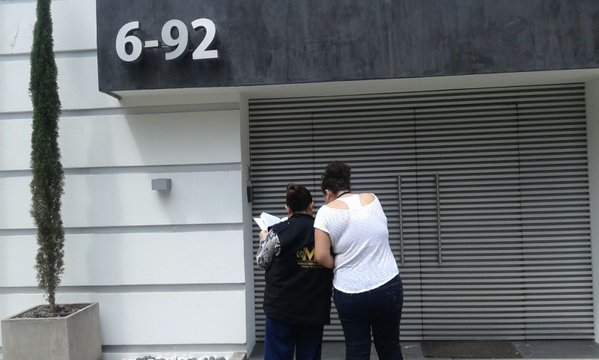 Dos propiedades de Roxana Baldetti han sido inmovilizadas por orden del Juzgado de Extinción de Dominio. (Foto Prensa Libre:&nbsp;@MPguatemala)<br />