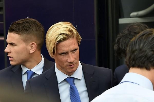 Fernando Torres espera conseguir su segunda Liga de Campeones, ahora con el Atlético de Madrid. (Foto Prensa Libre: AFP)