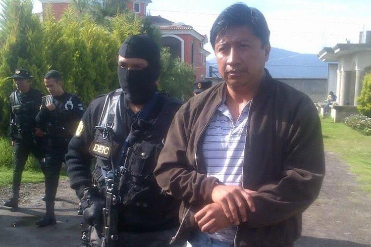 Hamilton Giovanni Pérez Hernández, exconcejal de Xela, capturado por tráfico de influencias y abuso de autoridad. (Foto Prensa Libre: PNC)