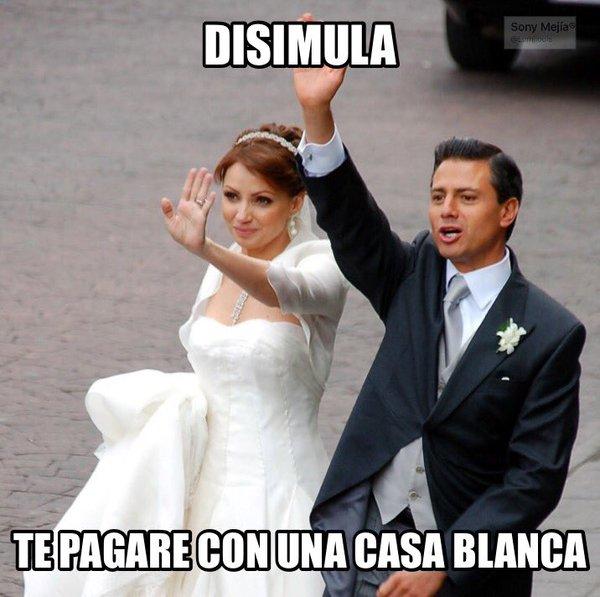 Usuarios de las redes sociales se mofan de la pareja presidencial de México. (Imagen: regeneracion.mx).