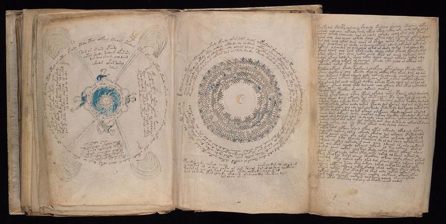 El Manuscrito de Voynich se localiza en la Universidad de Yale, Estados Unidos (Foto Prensa Libre: i.amz.mshcdn.com)
