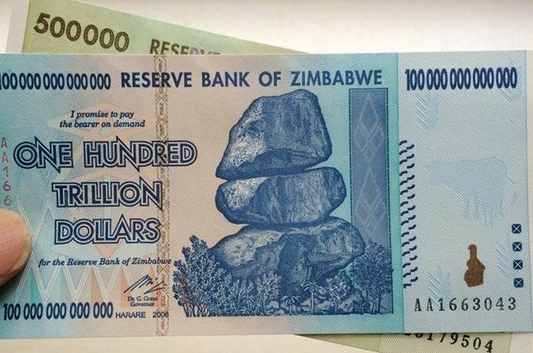 La solución de Harare contra la hiperinflación fue dolarizar la economía.