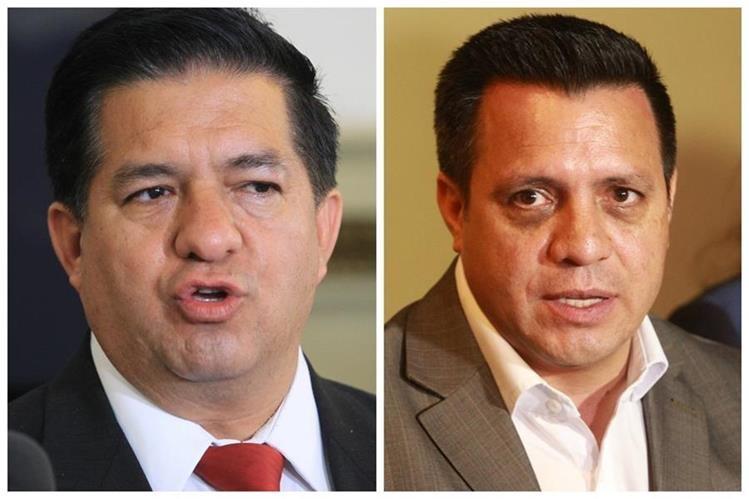 Natán Rodas -i- no buscó la reelección; Nery Rodas -d- es concejal capitalino. (Foto Prensa Libre: Hemeroteca PL)