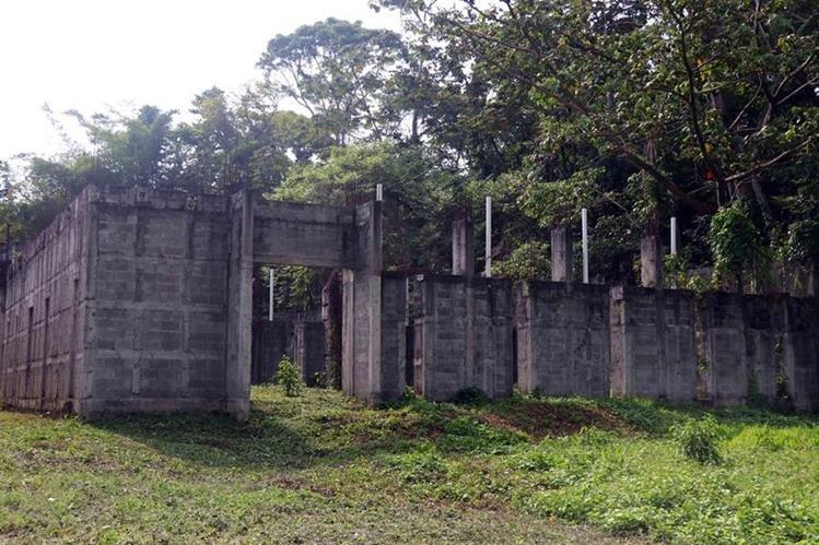 Ruinas del museo Caracol del Tiempo.(Foto Prensa Libre: Rolando Miranda)