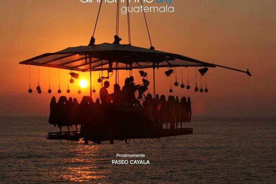 Guatemala tendrá un restaurante flotante a 40 metros de altura