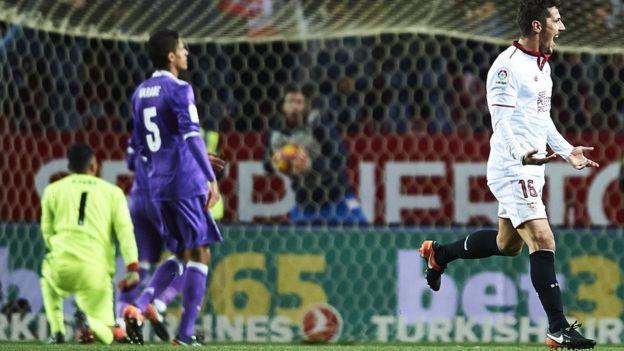 La derrota del Real Madrid contra el Sevilla dejó al Hoffenheim como el único equipo invicto en las principales ligas europeas. (Getty Images)