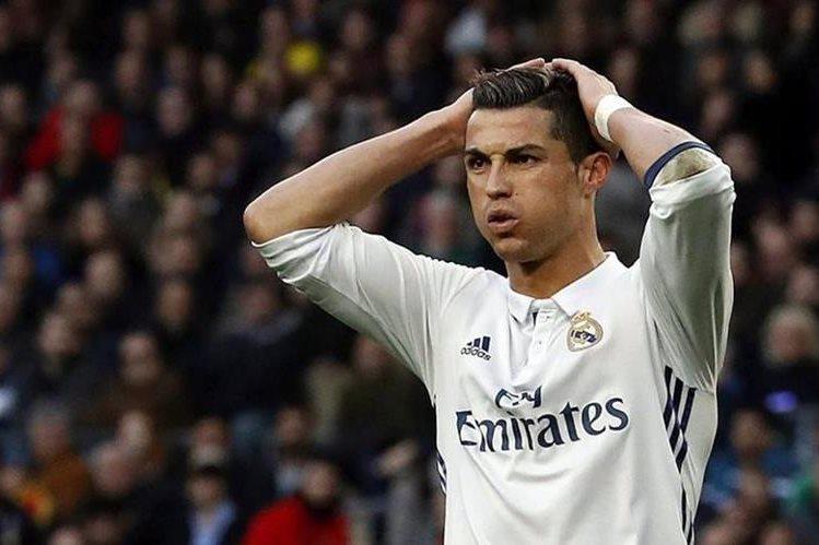 Cristiano Ronaldo, jugador del Real Madrid, es acusado de fraude tributario. Foto Prensa Libre: EFE.