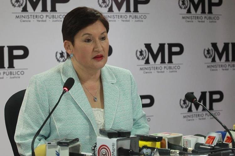 Thelma Aldana dice que tiene el derecho de renunciar como cualquier funcionario. (Foto Prensa Libre: Hemeroteca PL)
