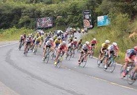Los pedalistas alegran el caluroso oriente del país.