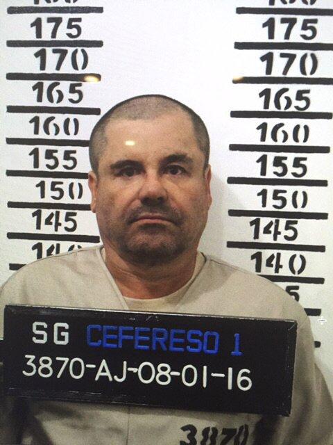 El Chapo Guzmán permanece recluído en el Penal del Altiplano, México. (Foto Prensa Libre: AP).
