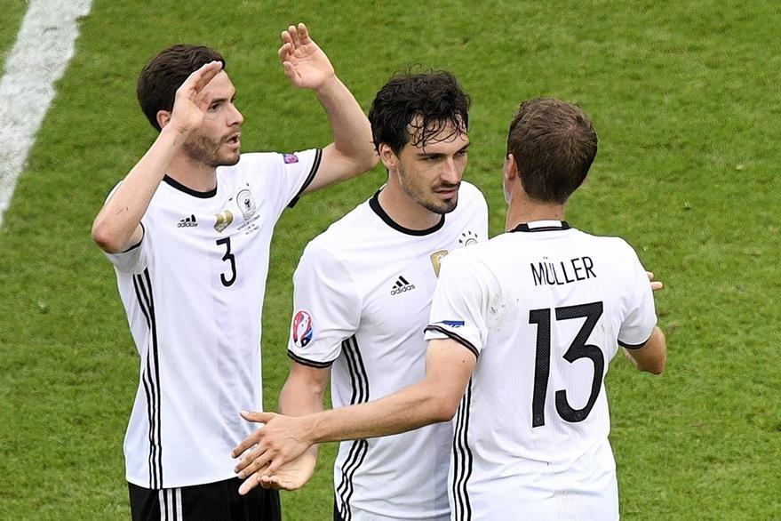 Alemania se despidió de la fase de grupos con una victoria 1-0 sobre Irlanda. (Foto Prensa Libre: AFP)