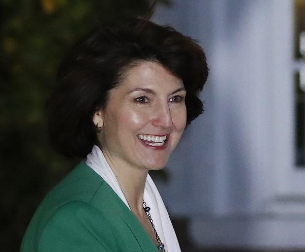 Cathy McMorris, congresista republicana elegida para secretaria del Interior. (AP).