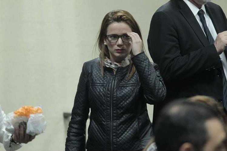 Daniela Beltranena enfrenta proceso por casos de corrupción. (Foto Prensa Libre: Hemeroteca PL)