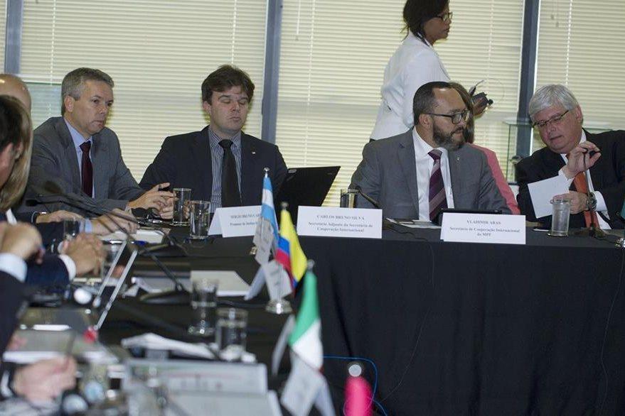 Fiscales y procuradores de 11 países tratan el caso de corrupción de Odebrecht. (EFE).