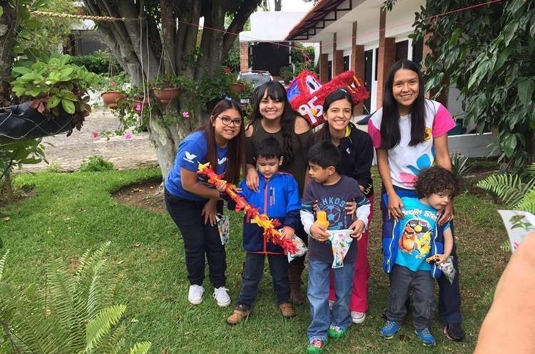 Los casos de autismo se dan más en niños que en niñas. (Foto Prensa Libre: Cortesía Fundación Waybi)