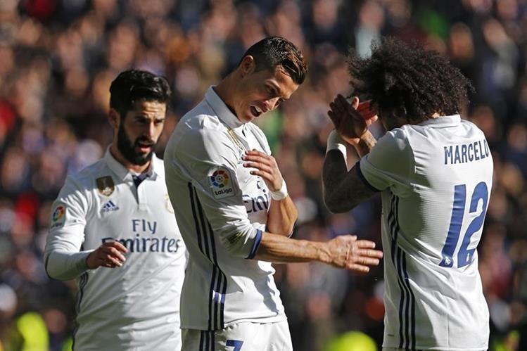Marcelo jugó un partidazo este sábado frente al Granada. (Foto Prensa Libre: AP)