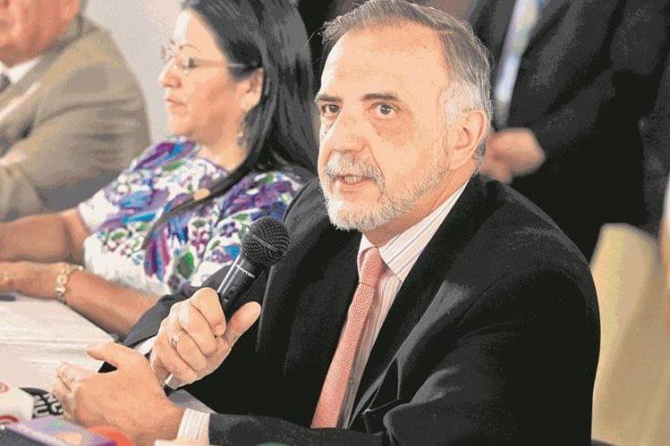 Comisionado de la Cicig, Iván Velásquez, denunciado por promover una reunión con diputados. (Foto Prensa Libre: Hemeroteca PL)