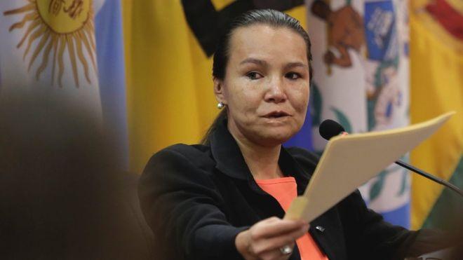 Linda Loaiza López es la primera venezolana en demandar al Estado venezolano por un caso de violencia contra la mujer. REUTERS