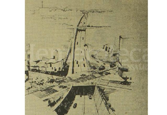 El proyecto original del viaducto de la 24 calle contemplaba la construcción de 6 puentes desde la ciudad olímpica  hasta la avenida del Cementerio. (Foto: Hemeroteca PL)