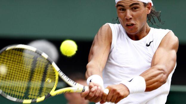 Rafal Nadal es conocido por sus rituales durante sus partidos de tenis. PRESS ASSOCIATION