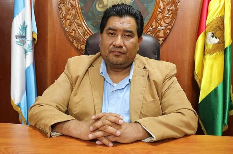 Oswin René Morales Flores fue juramentado este jueves como gobernador de San Marcos. (Foto Prensa Libre: Cortesía)