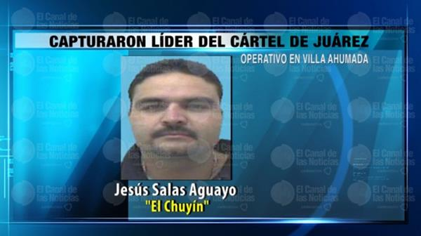 Jesús Salas Aguayo, considerado el líder del cartel de Juárez. (Internet).