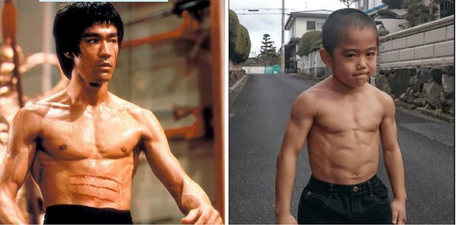 """El """"mini Bruce Lee"""" ha ganado fama por su impresionante velocidad y agilidad. (Foto Prensa Libre: Ryusei Imai/Facebook)"""