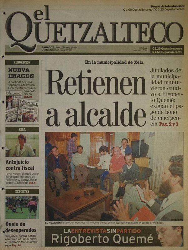 El 9 de octubre de 1999 deja de ser un inserto y comienza su circulación independiente de Prensa Libre; además, estrena nuevo diseño. (Foto Hemeroteca PL)