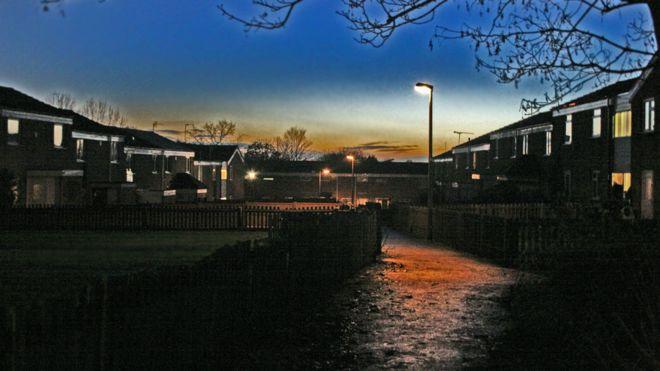 Los niños desaparecieron en Chelmsley Wood, en las afueras de Birmingham, Reino Unido.