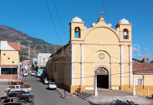Iglesia de Nuestra Señora de Candelaria, Chiantla, Huehuetenango. (Foto: Hemeroteca PL)