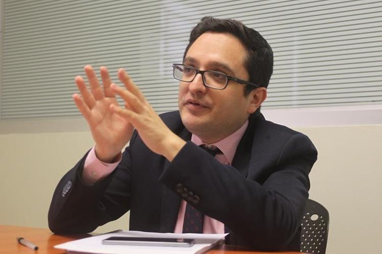 Francisco Sandoval, jefe de la Fiscalía Especial contra la Impunidad. (Foto: Prensa Libre)