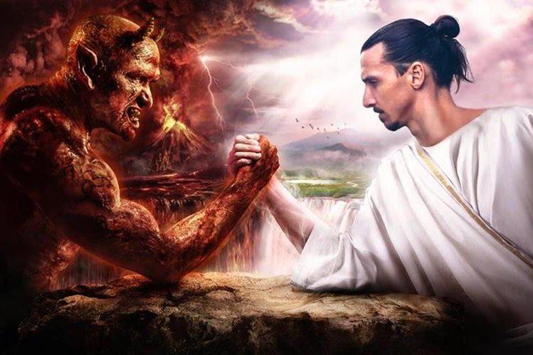 Zlatan Ibrahimovic compartió esta imagen con el anuncio de su regreso al Manchester United. (Foto Prensa Libre: @Ibra_official)