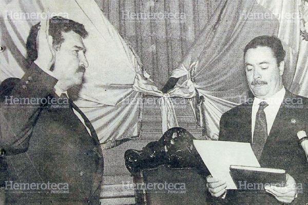 Ramiro De León Carpio es nombrado presidente de Guatemala. (Foto: Hemeroteca PL)