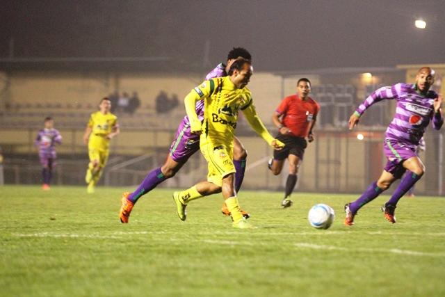 Marqense rescató un empate 1-1 con Antigua GFC. (Foto Prensa Libre: Aroldo Marroquín)