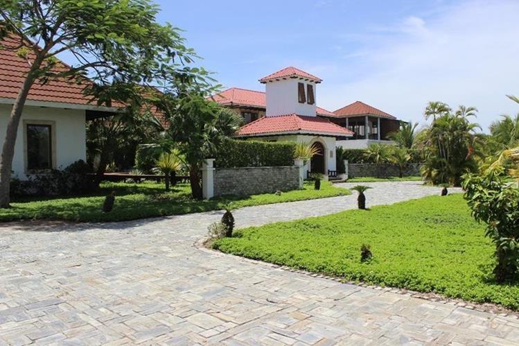 La casa que el MP busca extinguir está vinculada con el expresidente Otto Pérez Molina y ubicada en Taxisco, Santa Rosa. (Foto Prensa Libre: MP)
