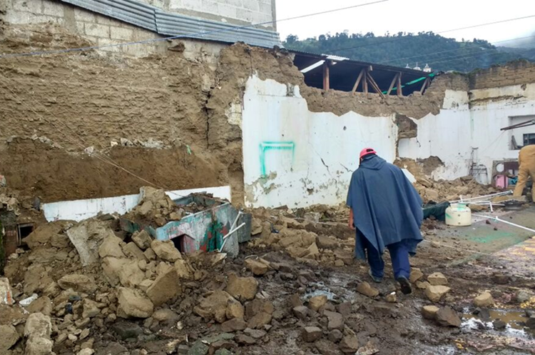 Quetzaltenango fue la zona más afectada